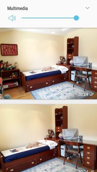 Dormitorio juvenil, en buen estado.