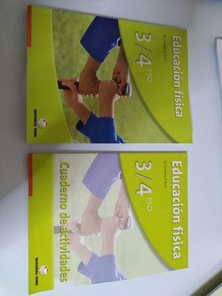 Libro cuaderno actividades Educación Física 3/4Eso