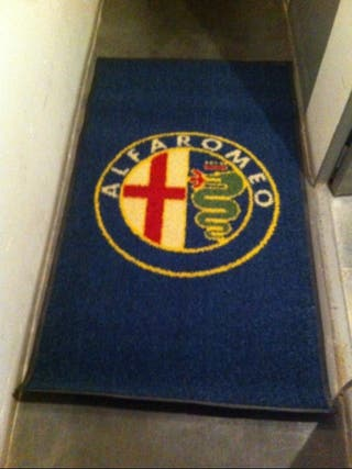 alfombra antideslizante alfa romeo