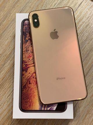 Teléfono móvil Apple iPhone XS MAX 64 GB ORO