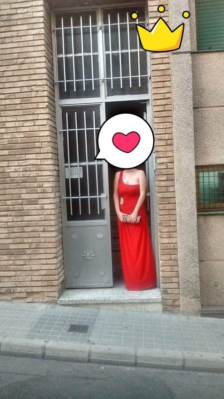 vestido invitada boda rojo