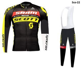 Equipación ciclismo termal Scott-22 t.XL