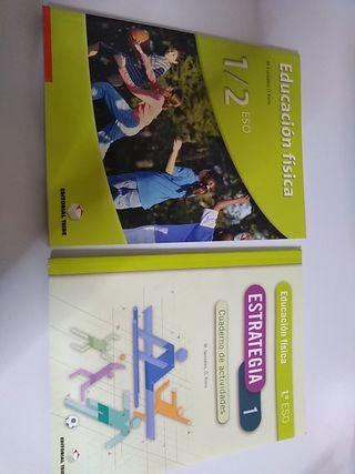 Libro y cuaderno Educación física 1/2 Eso