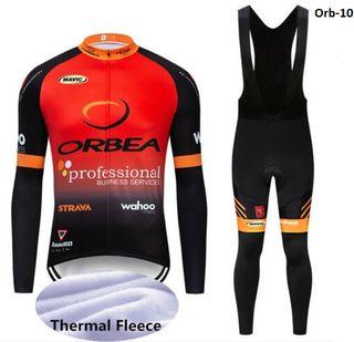 Equipación ciclismo termal Orbea-10 t. L