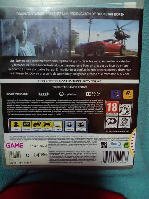 gta 5 para playstation 3