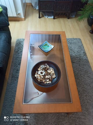 Mesa de madera elevable