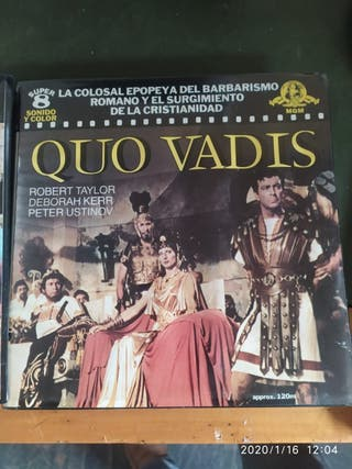 Pelicula Super 8 Quo Vadis