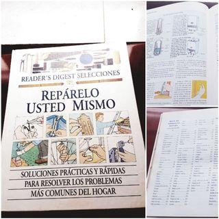 Libro bricolaje REPARALO TU MISMO