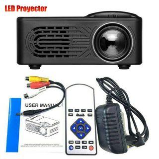 Mini Proyector Full HD Cine Casa Portatil - LED