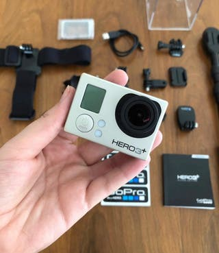 Gopro pro hero 3+ silver edition