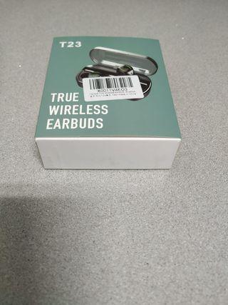 Auriculares nuevos bluetooth