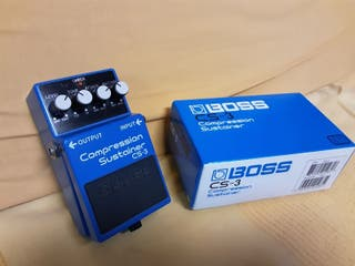 pedal compresor BOSS CS3