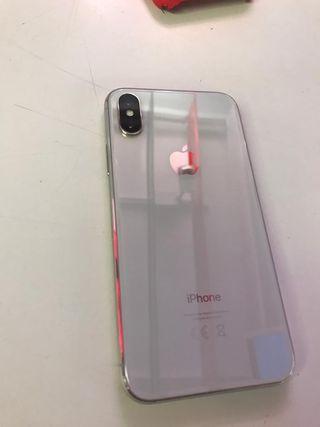 Iphone X blanco 64GB con garantía