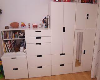 Muebles almacenamiento infantil IKEA - Niños