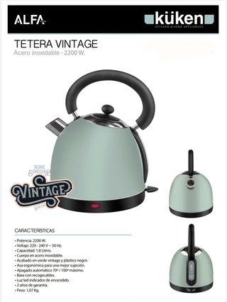 TETERA INOX. 1.8L 2200W KUKEN VINTAGE