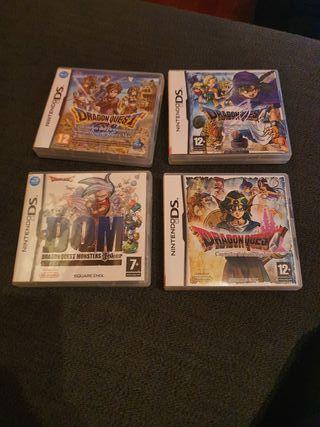 juegos Dragon Quest Nintendo DS