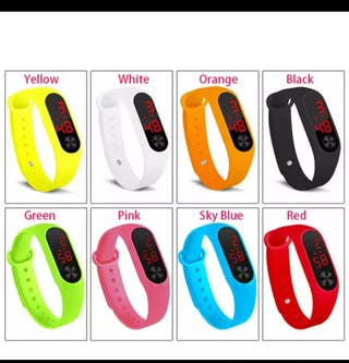 reloj pulsera deportivo Led