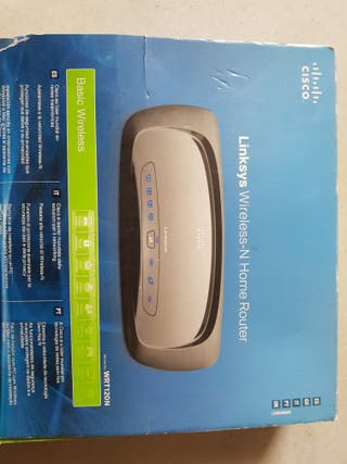 router linksys cisco wrt120n