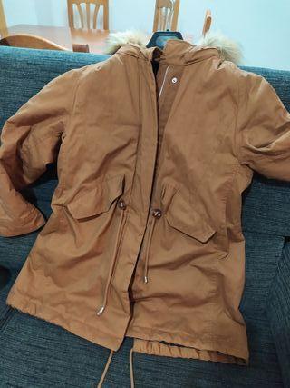 parka capucha Spriendfield marrón