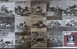Azulejos cerámicos toros de Goya