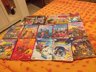 Libros Tea Stilton y geronimo stilton
