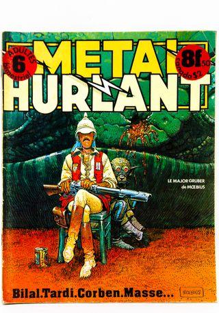 Les Humanoides Associes revista Métal Hurlant nº 6