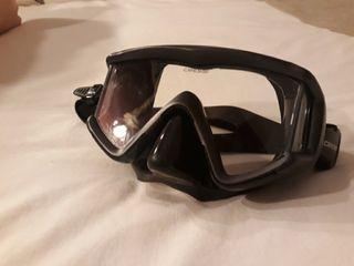 mascara gafas buceo apnea pesca submarinismo