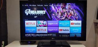 Tv 42 pulgadas + Fire Stick Amazon