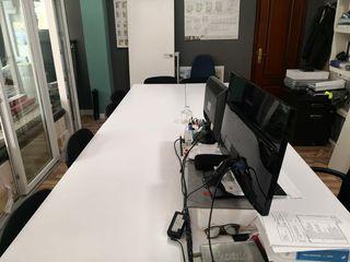 Mesa oficina 4 puestos de Trabajo