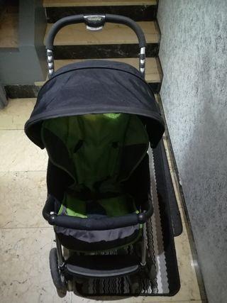 Carrito bebé Casualplay+saco invierno