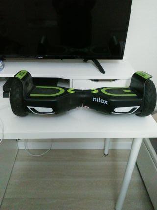 Hoverboard utilizado dos veces!