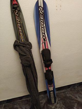 tablas esquí náutico