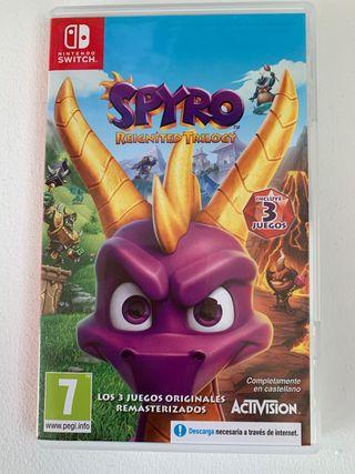 Cambio Spyro para Nintendo Switch, 3 juegos en uno