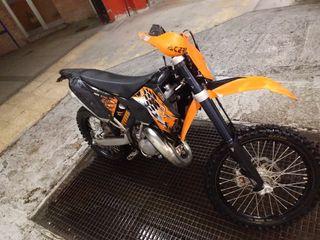 KTM 125 exc enduro 2008