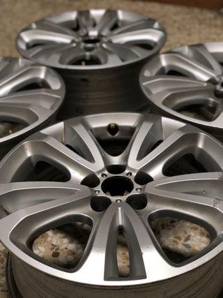 """Llantas 17"""" originales de aluminio Citroen C5"""