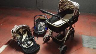 Carrito de bebé de tres piezas NUEVO