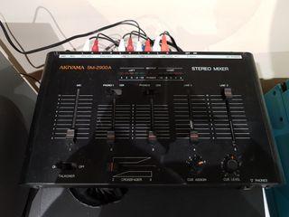 akiyama sm-2900a stereo mixer