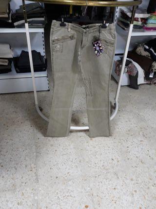 pantalones mujer vaquero