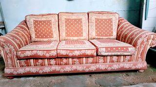 Juego de 3 sofás con mismo diseño