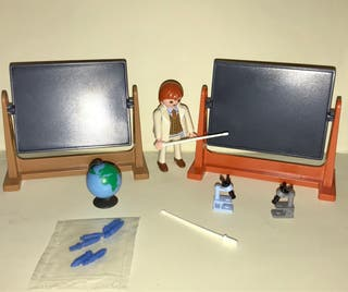 Playmobil maestro maestra colegio
