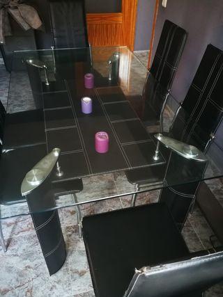 mesa de comedor. 1.50 x 90