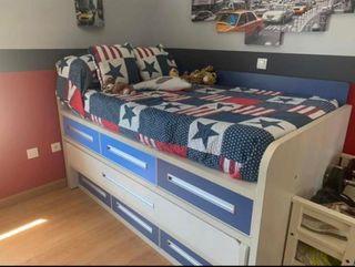 Cama+Escritorio (Dormitorio)