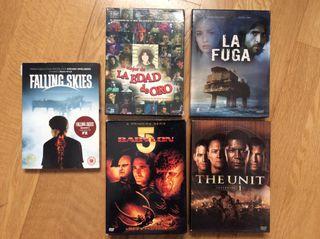 Cambios series en DVD.
