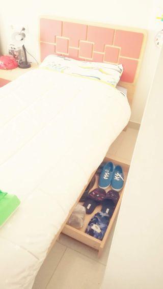 camas de 90 cm juveniles