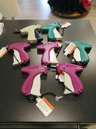 pistola etiquetas