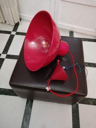Lámparas rojas