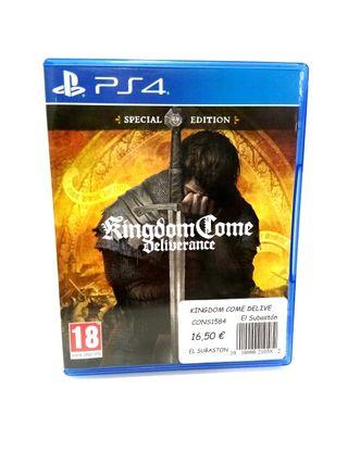 JURGO PS4 KINGDOMCOME DELIVERANCE