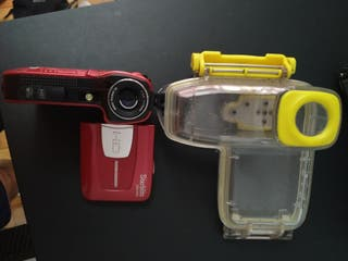 Camara de video acuática