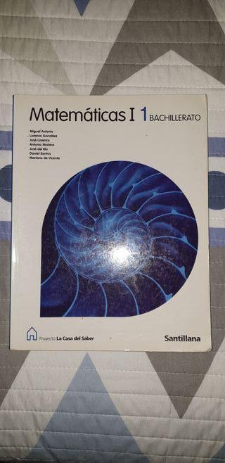 Libro de matemáticas 1º Bachillerato