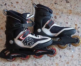 patines en línea fitness K2 talla 42